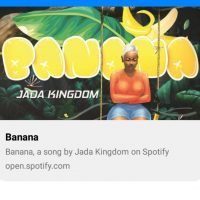New Track alert - Banana by Jade Kingdom