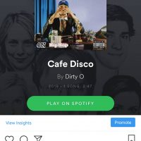 New Track alert - Cafe Disco by Dirty 0