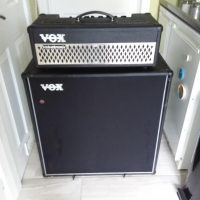 Vox amp head AD100VTH  and V412BK 4x12 straight cabinet. Excellent  condition
