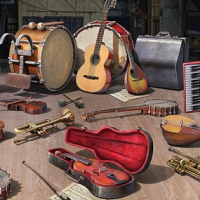 Assorted used Musical Instruments at giveaway Prices