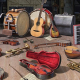 Assorted old Musical Instruments