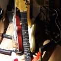 Vintage V6MRHDX Summer of Love guitar
