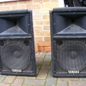 Yamaha Club V 112 passive speakers