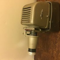 Aldis slide projector well maintained and of antique quality