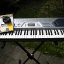 Casio CTK-491 Keyboard, plus stand, plus chords book.