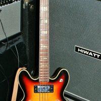 Ibanez Semi Acoustic Bass