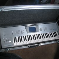 Korg Trinity + Full Flight Case