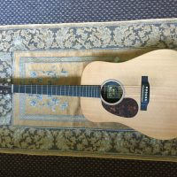 Left Handed Martin DX1RAE with pickup
