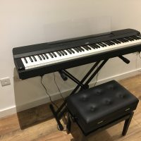 Yamaha P255 88 key (full size) Digital Piano + Stool and Stand