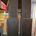 PA SYSTEM TOP CABINETS BASS CABINETS AMPS ETC