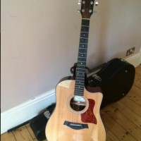 Taylor Guitar 310ce Acoustic Electric Guitar with Taylor Hard Case