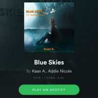 New track alert - Blue Skies