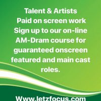 Paid TV Work for actors & singers - worldwide